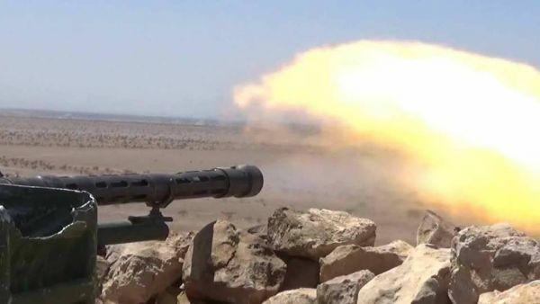 قتلى وجرحى حوثيون برصاص الجيش الوطني في الجوف